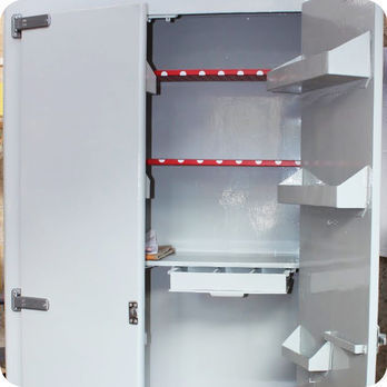 meubles vintage rangements grande armoire frigo en bois fabuleuse factory. Black Bedroom Furniture Sets. Home Design Ideas