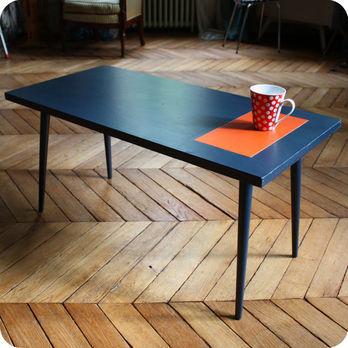 Meubles Vintage Bureaux Tables Table Basse Annees 50