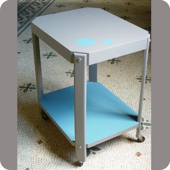 meubles vintage consoles petits meubles table console roulante fabuleuse factory. Black Bedroom Furniture Sets. Home Design Ideas