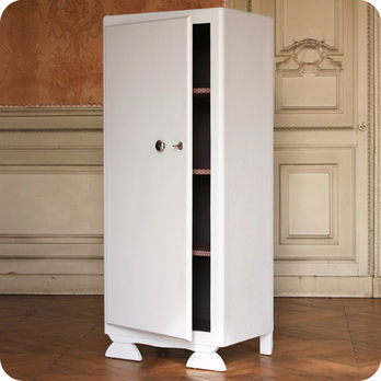 meubles vintage rangements armoire ling re ann es 40 fabuleuse factory. Black Bedroom Furniture Sets. Home Design Ideas