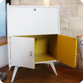 Bureau vintage secr taire ann es 50 60 design inclin for Architecture annees 50