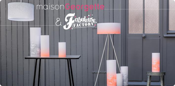 lampes tissu r tro pop et meubles vintage fabuleuse factory. Black Bedroom Furniture Sets. Home Design Ideas