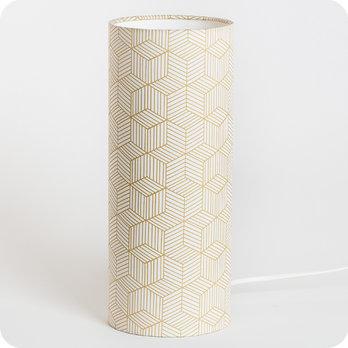 Chevet Tube À Poser Tissu Lampe DesignDe YfI6yv7gb