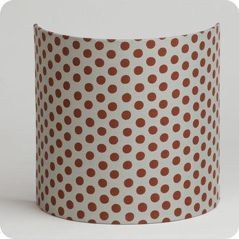 applique murale en tissu motif pois vintage grain de caf. Black Bedroom Furniture Sets. Home Design Ideas