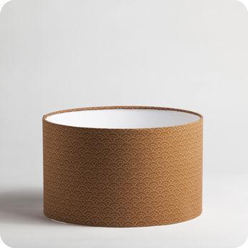 abat jour imprim en tissu pour lampe lampadaire ou suspension motif japonais moete. Black Bedroom Furniture Sets. Home Design Ideas