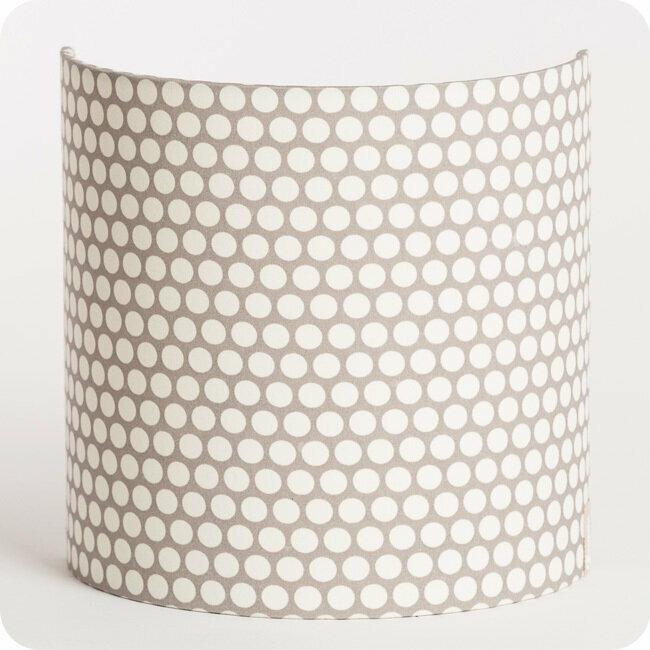 luminaire applique murale tissu motif scandinave pois blanc gris osmose 5 Superbe Applique Murale Tissu Gst3