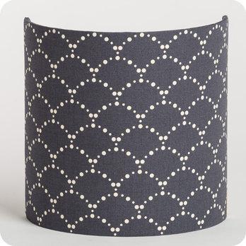 applique murale design en tissu motif japonais asahi gris. Black Bedroom Furniture Sets. Home Design Ideas