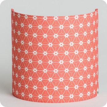 applique murale design en tissu motif japonais rose. Black Bedroom Furniture Sets. Home Design Ideas