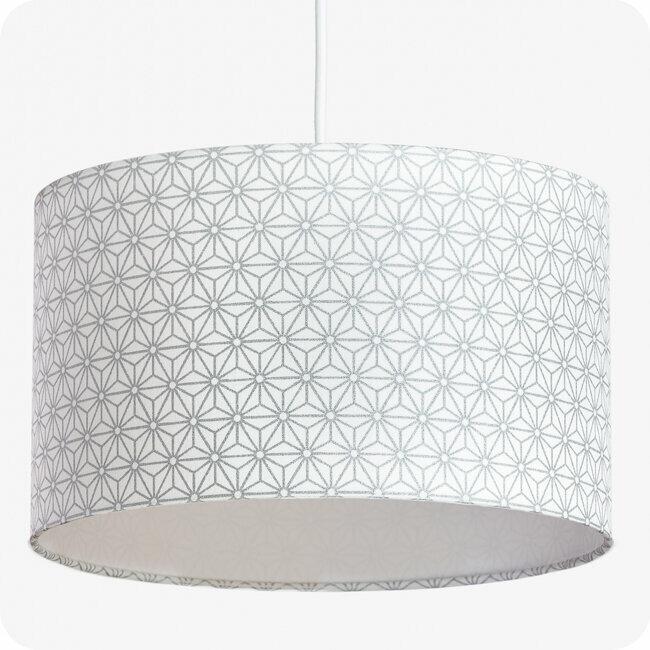 Design Suspension LampeLampadaire Ou Jour Tissu En Motif Abat Pour dQBCxoeWr