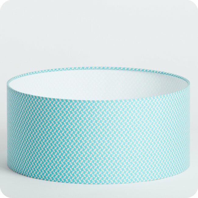 Suspension bleu canard suspension petite friture cercle for Suspension tissu