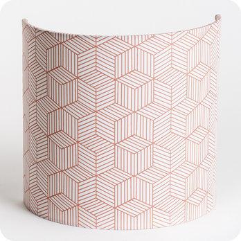 applique murale design en tissu motif g om trique. Black Bedroom Furniture Sets. Home Design Ideas