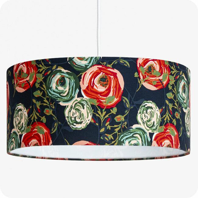 Tissu Motif Design En Jour Abat Pour Suspension LampeLampadaire Ou UzpSMV