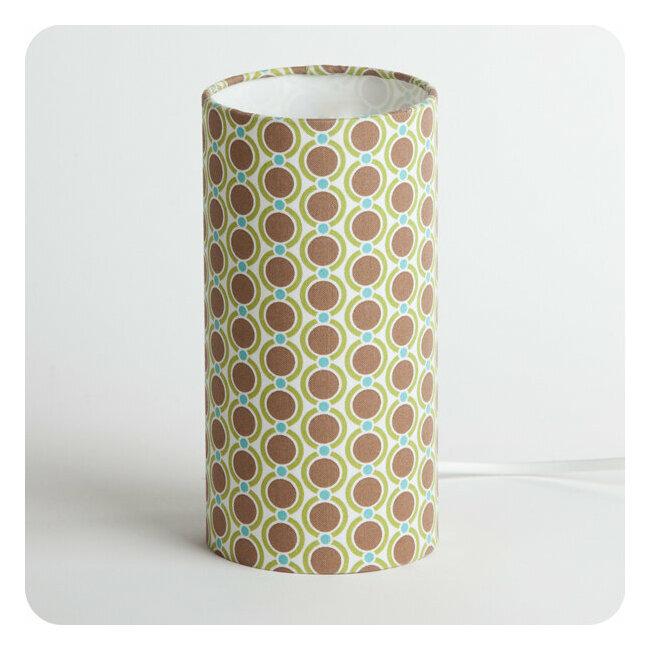 En 70 Tube À Summer Poser Tissu Lampe Vintage Motif FcT1JlK