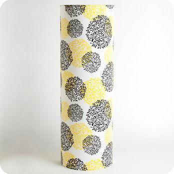 lampe tube poser en tissu motif vintage v g tale. Black Bedroom Furniture Sets. Home Design Ideas