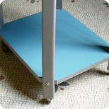 Table-console roulante