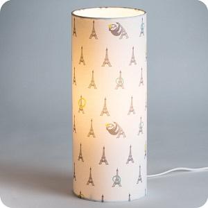 lampe tissu Fabuleuse Eiffel Fabuleuse Factory
